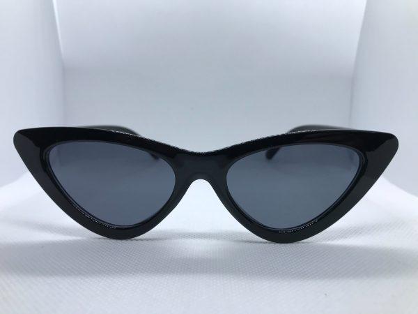 Zonnebril dames Cat-Eye zwart Ozaflu-voor
