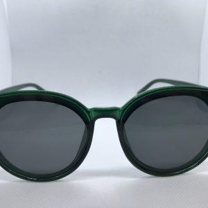 Zonnebril-groen-retro -voor